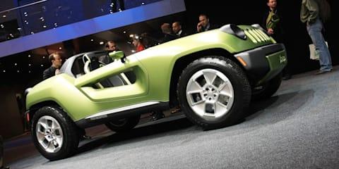 Jeep Renegade concept 2008 Detriot Motor Show