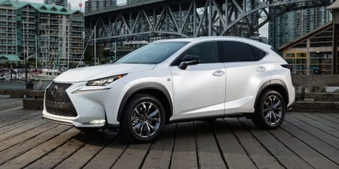 Lexus NX to start from $55,000