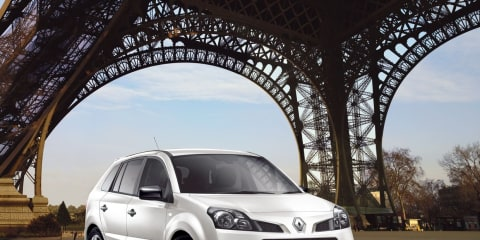 2010 Renault Koleos Expression pricing and specifications