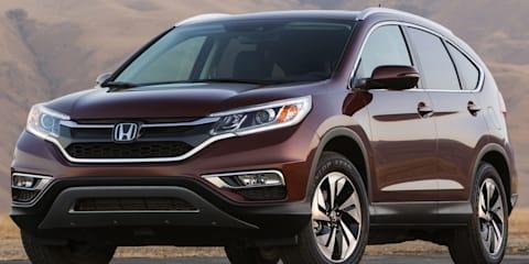 2015 Honda CR-V facelift unveiled