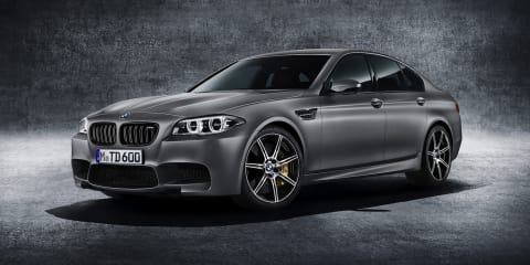 BMW M5 celebrates 30 years with brand's most powerful ever production car