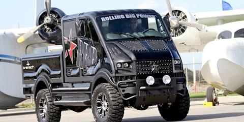 Bremach T-Rex eletric off-road truck