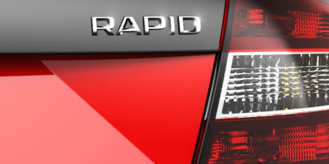 Skoda Rapid: potential RS model teased