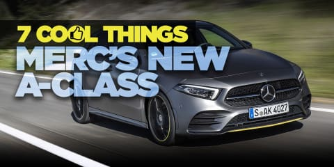 2018 Mercedes-Benz A-Class review: 7 Cool things