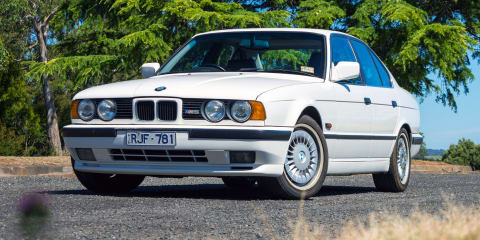 1990 BMW M5 joins Australian arm's heritage fleet