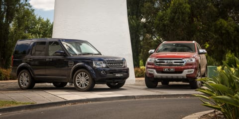 Ford Everest Titanium v Land Rover Discovery SDV6 SE: Comparison Review