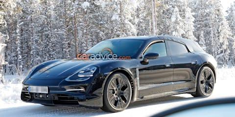 2020 Porsche Taycan Sport Turismo spied again
