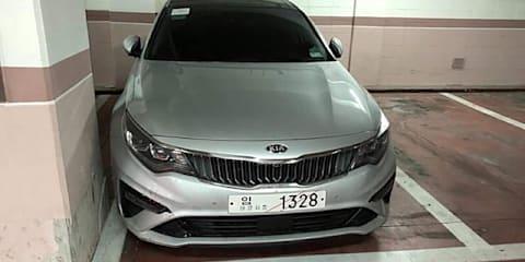 2018 Kia Optima facelift revealed in Korea