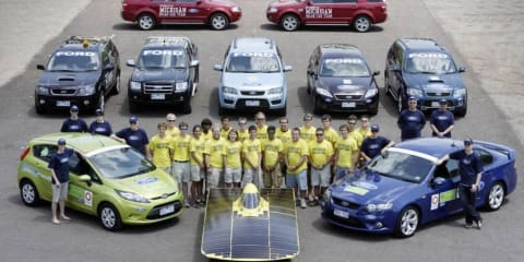 Ford Fiesta ECOnetic triumphs at Global Green Challenge