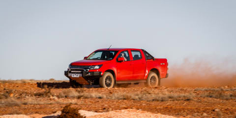 Going to extremes in the Holden Colorado Z71 Xtreme