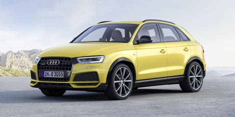 2017 Audi Q3 update and S Line Competition unveiled