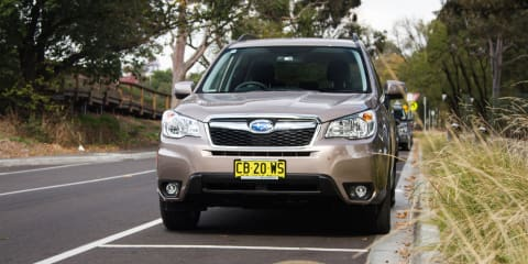2013-14 Subaru Forester manual diesel recalled