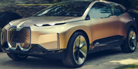 BMW iNext concept leaked