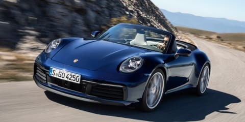 2019 Porsche 911 Cabriolet revealed