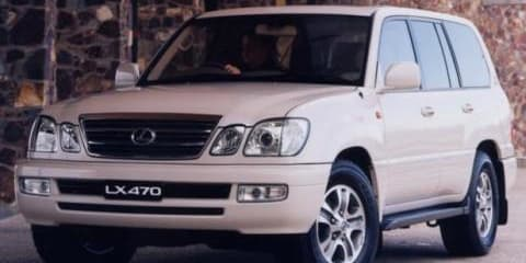 Toyota Land Cruiser and Lexus LX470 Front Disc Brake Rotor Bolt Recall