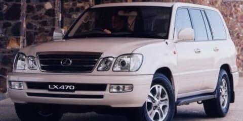 Toyota Land Cruiser and Lexus LX470 Front Disc Brake Rotor Bolt Recall