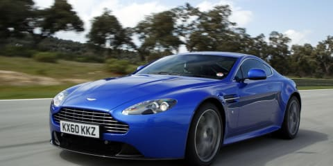 Aston Martin: New Cars 2012
