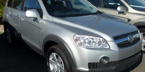 2006-07 Holden CG Captiva recalled