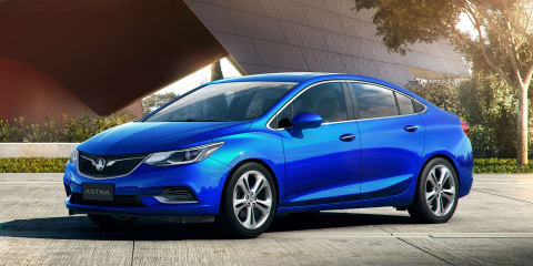 2017 Holden Astra sedan revealed as Cruze sedan replacement, coming in May