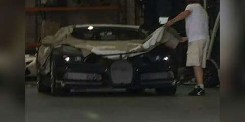 Bugatti Chiron teased after alleged sighting in Los Angeles