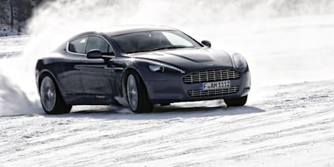 Aston Martin Rapide sets off on tour of Alaska