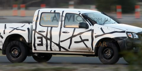 2012 Ford Ranger T6 Australian spy photos