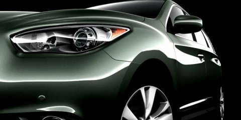 2013 Infiniti JX Concept seven-seat crossover teased