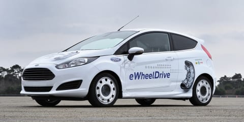 Ford Fiesta E-Wheel Drive: electric prototype debuts in-wheel motor tech