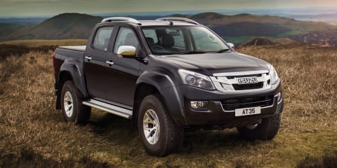 2016 Isuzu D-MAX AT35 unveiled:: ready to tackle the Arctic, but not Australia