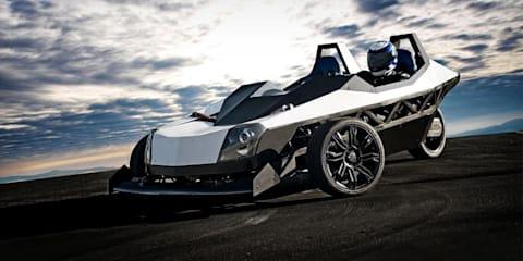 Epic EV Torq 150kW electric three wheeler