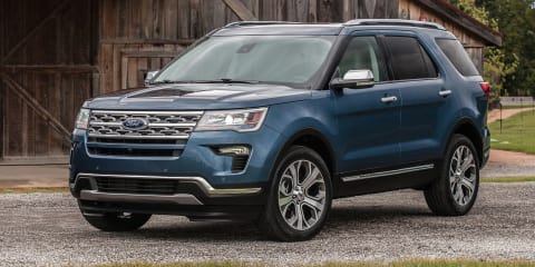 Ford Explorer dropped from various export markets