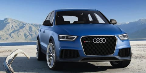Audi RS Q3 concept: baby performance SUV revealed