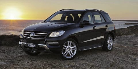 2013 MERCEDES-BENZ ML 250 CDI BLUETEC