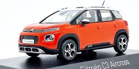 2018 Citroen C3 Aircross revealed by leaked model