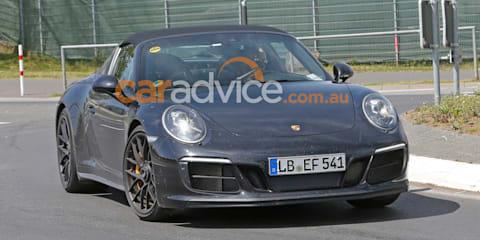 2017 Porsche 911 GTS Targa spied