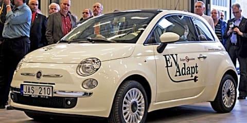 Chrysler to show Fiat 500 EV at Detroit Motor Show