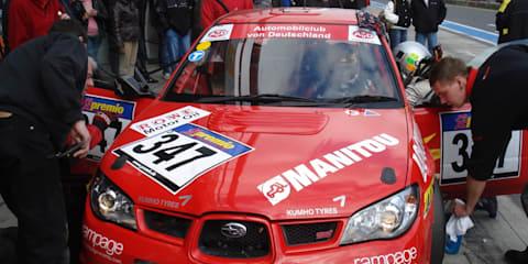 Subaru WRX STi by SR Motorsport at Nurburgring
