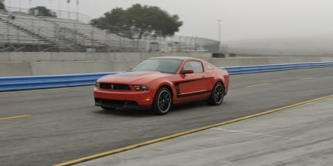 2012 Ford Mustang Boss 302 to introduce second TracKey ignition technology