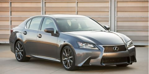 Lexus GS F Sport unveiled ahead of SEMA show