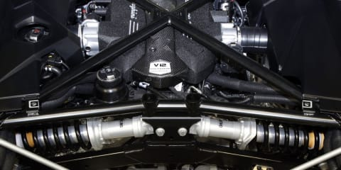 2011 Lamborghini Aventador to get pushrod rear suspension