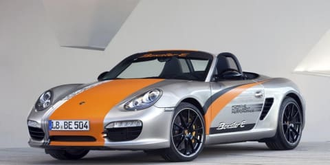 Porsche Boxster E prototype specifications