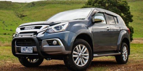 2017 Isuzu MU-X LS-U (4x4) review