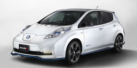 Nissan Leaf Nismo Performance Package released in Japan
