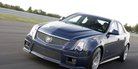 Cadillac CTS-V Challenge throws down against the Germans