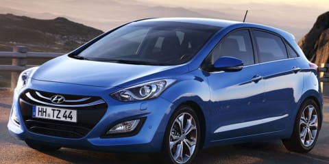 2012 Hyundai i30 facelift revealed ahead of Frankfurt show, in Australia mid-2012