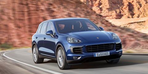 2015 Porsche Cayenne update: New plug-in hybrid added to revised range