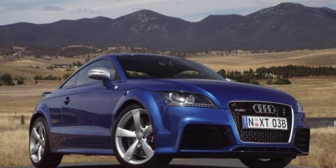 Audi TT RS unleashed in Australia