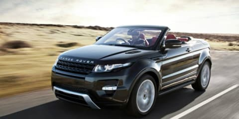 Range Rover Evoque Convertible shelved?
