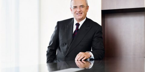 Volkswagen AG extends CEO Winterkorn's contract to 2016