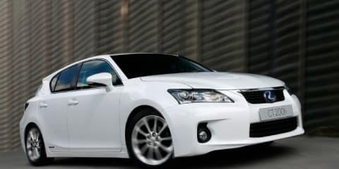 2011 Lexus CT 200h offers ECO and SPORT driving modes